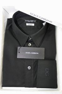 Μαύρο ανδρικό πουκάμισο DG
