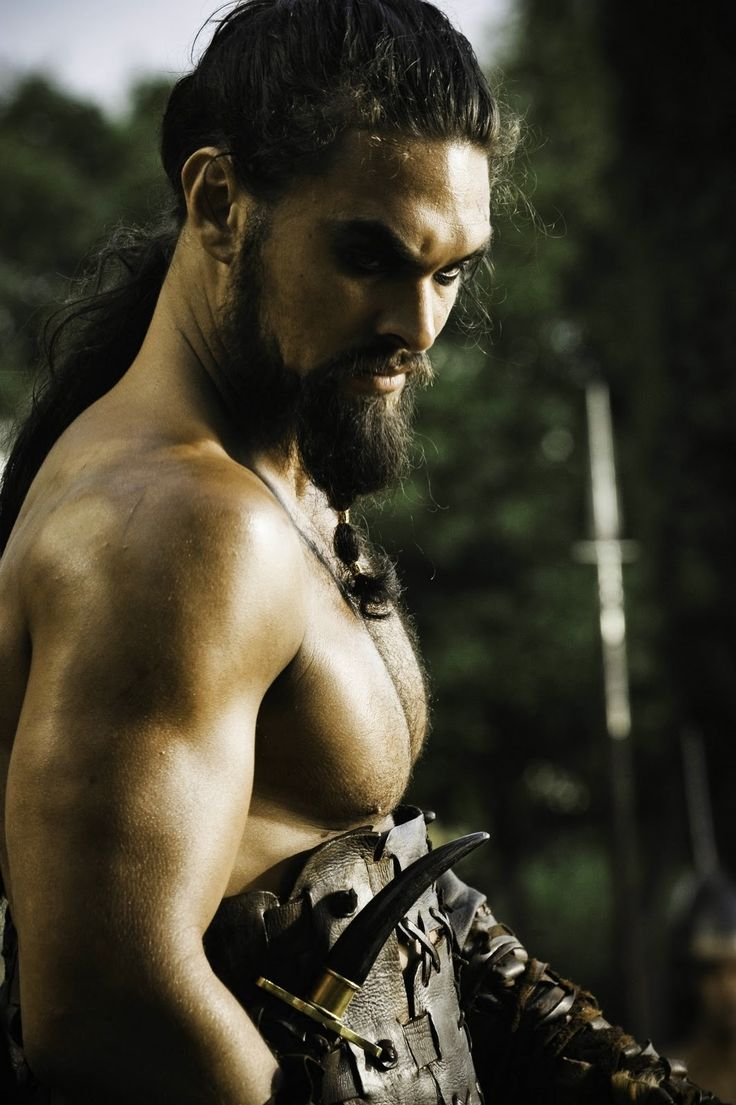 Khal Drog - the great and brave warrior of the Dothraki clan, a barbarian warrior clan outside of Westeros, across the narrow sea, and outside of the Free Cities. Khal is a very proud warrior who is said to have never lost a battle. He plots revenge against Westeros after an attempt is made on Khaleesi's life (Daenerys, who is his wife, and is referred to as his moon and stars).