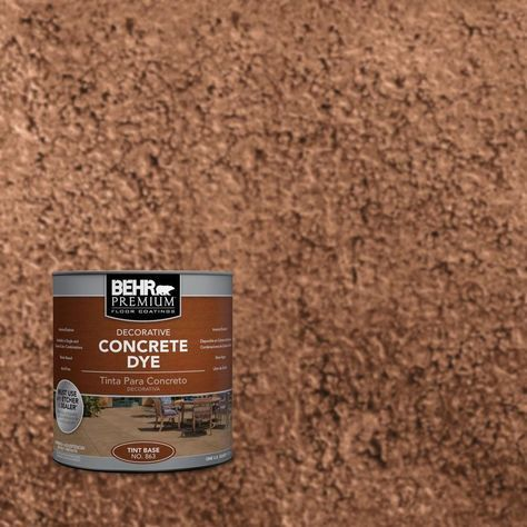 behr concrete stain home depot colors premium qt cedar blush dye application