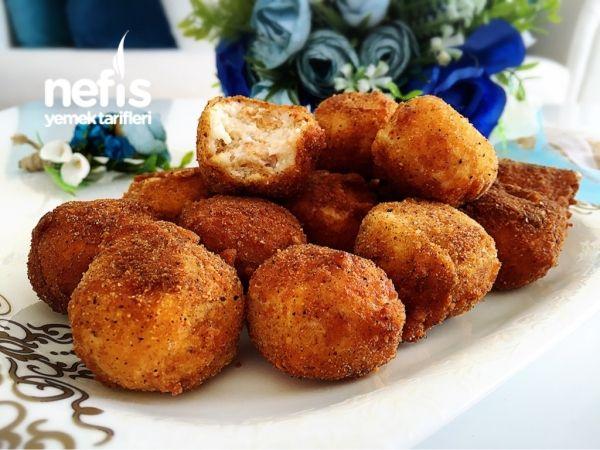 Bayat Ekmekli Peynirli Toplar(kahvaltılık)