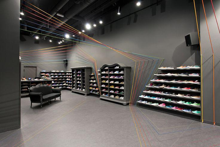 As linhas coloridas da loja Run Colors idealizadas pelo estúdio Mode:Lina…