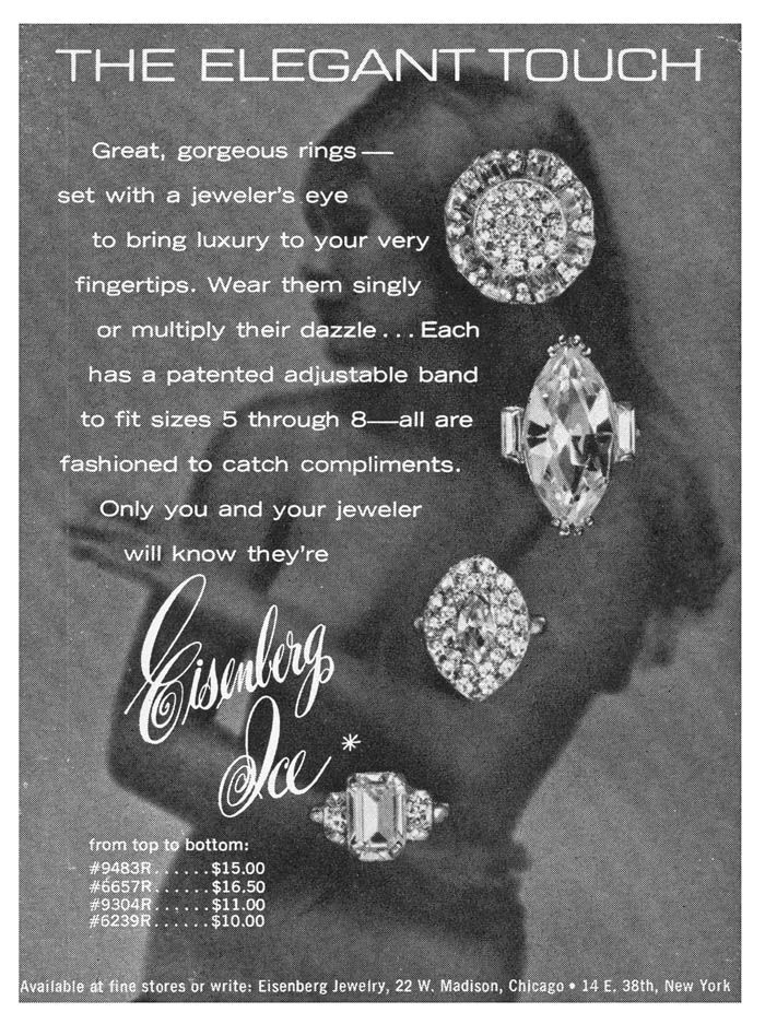 dating eisenberg jewelry Vintage eisenberg - eisenberg original - eisenberg ice after about 35 years the company decided to add jewelry to their clothing signed eisenberg up under.