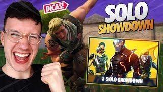 solo showdown fortnite