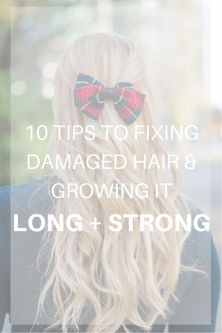 How I Repaired My Damaged Hair | Do you want gorgeous lush healthy hair? Click through to find out how I repaired my super dry damaged bleached hair and brought it back from being a downright MESS! Don't forget to REPIN this post to share the love and also so you can refer to it later on!