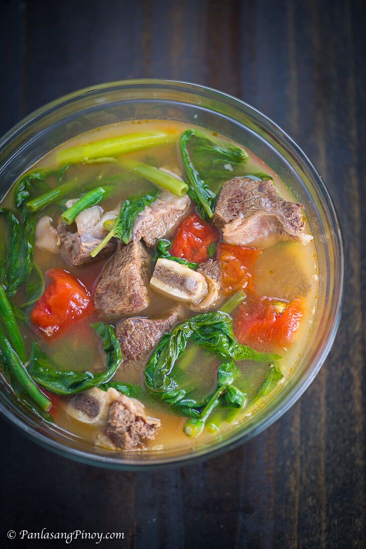 how to cook sinigang na hipon filipino style