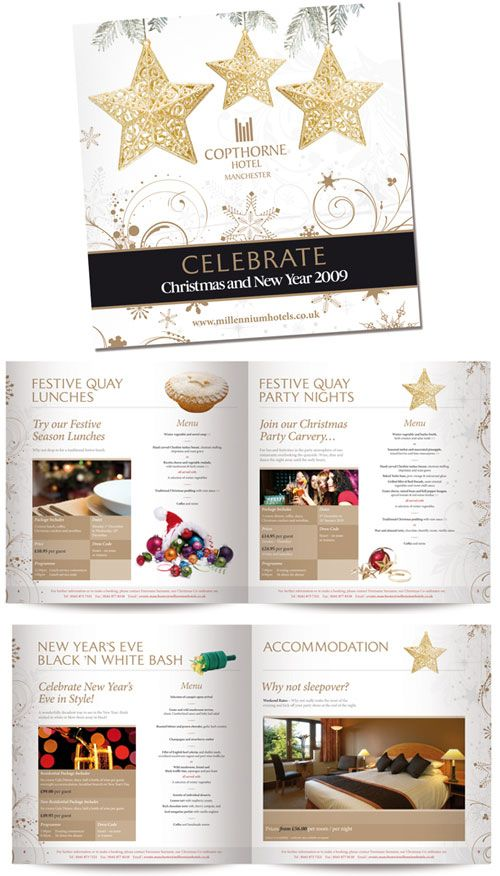 17 best Christmas Hotel Brochure images on Pinterest Christmas