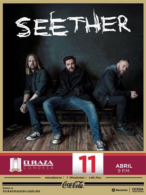 Seether 11-abril-2015 El Plaza Condesa
