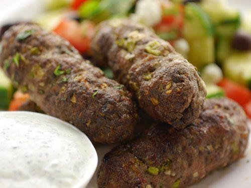 Sunday Brunch - Articles - Lamb Kofta with Greek Salad Recipe - Channel 4