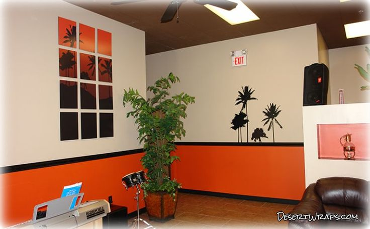 Spice up your office with Interior Branding that connects with your customers. Here is an example of work we've done. http://www.DesertWraps.com #InteriorBranding #InteriorDesign #PalmDesert #CoachellaValley