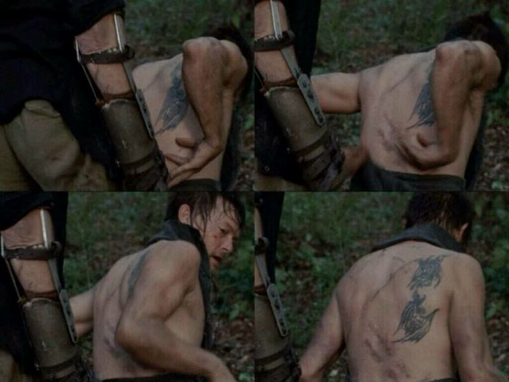 This really broke my heart finding out that his dad abused both him and Merle....