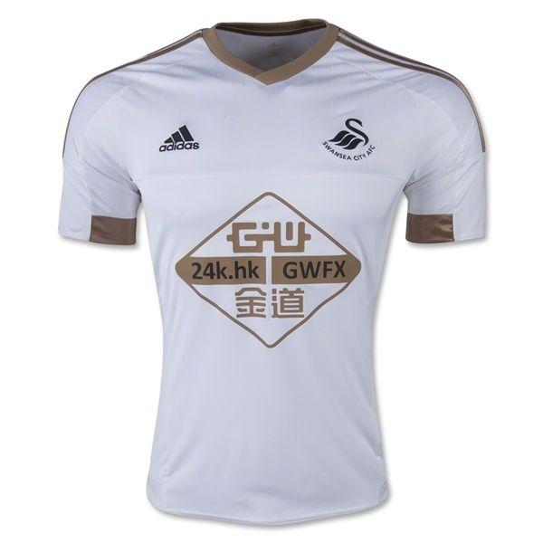 Swansea City 15/16 Home Soccer Jersey
