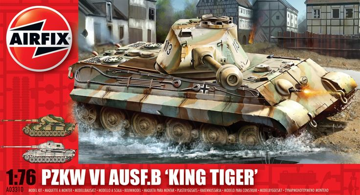 Airfix King Tiger Reference Info