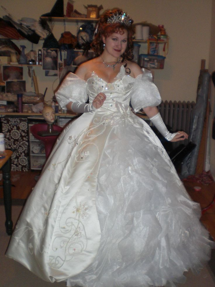 Ginger's Making Of Giselle's Wedding Dress