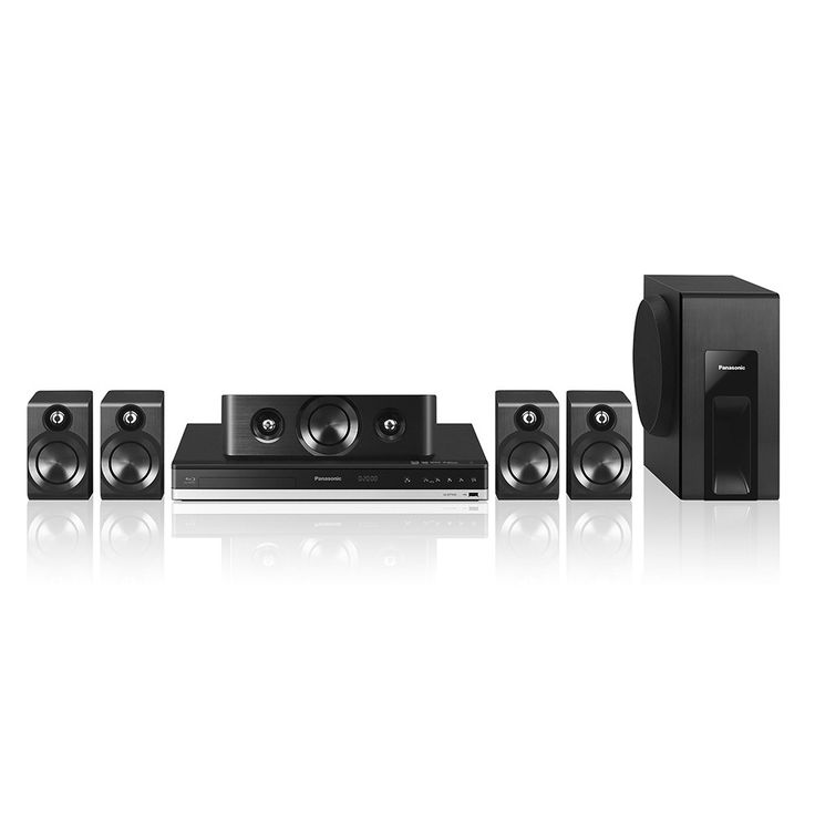 Panasonic SC-BTT405 5.1 3D Home Theater System - 600 W RMS - Blu-ray | Overstock™ Shopping - Top Rated Panasonic Home Theater Systems