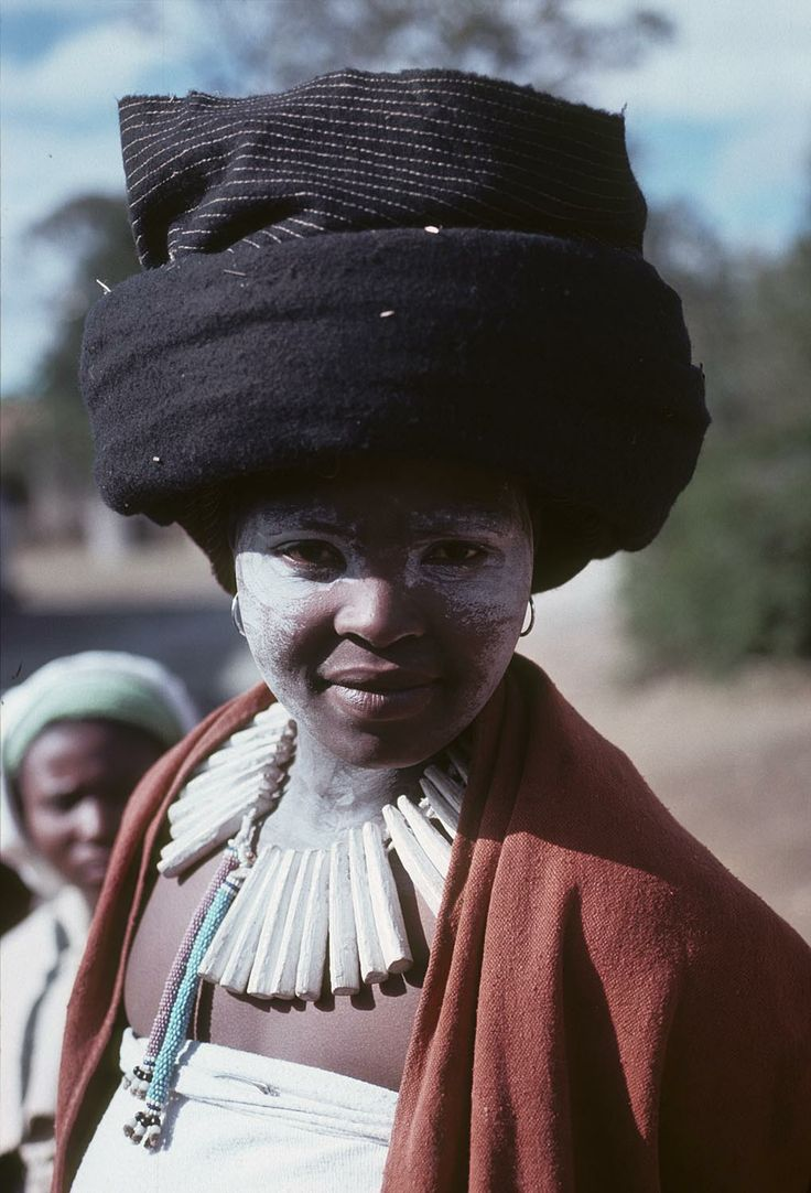 Africa | Xhosa woman. South Africa. 1967 - 1976 | ©Digital Library University of Wisconsin--Madison. African Studies Program. Photographer Harold E Scheub