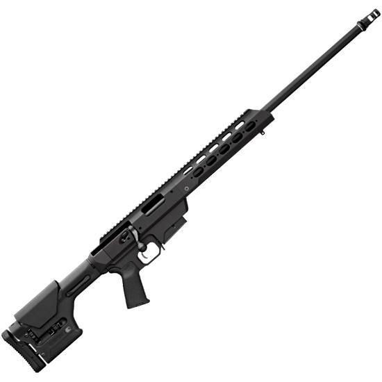 Remington 700 MDT Tactical Chassis Bolt Action Rifle .308 Winchester 24 Barrel 4 Rounds Bell & Carlson Medalist Varmint Stock Matte Blue Finish 84474.: