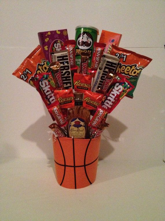 In placeof goodie bags? Use coozie or plastic cup for base, add asst. candy (not as much as shown here!!!)