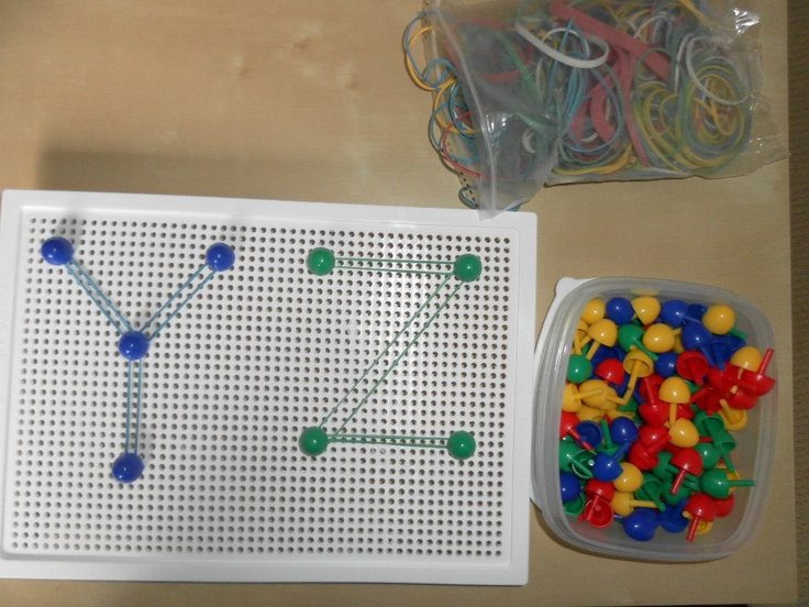 idea for pegs and pegboards