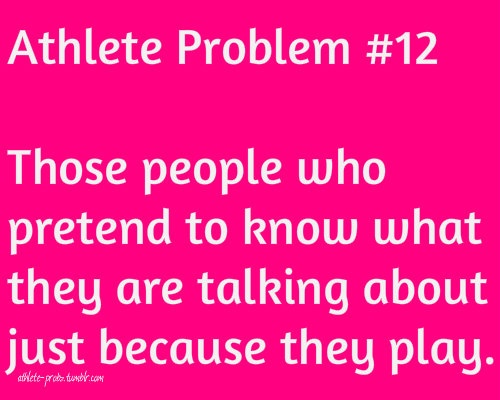 athlete problems | Tumblr