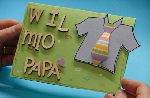 Biglietto fai da te per la Festa del Papà