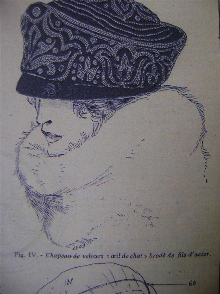 1920s hat pattern