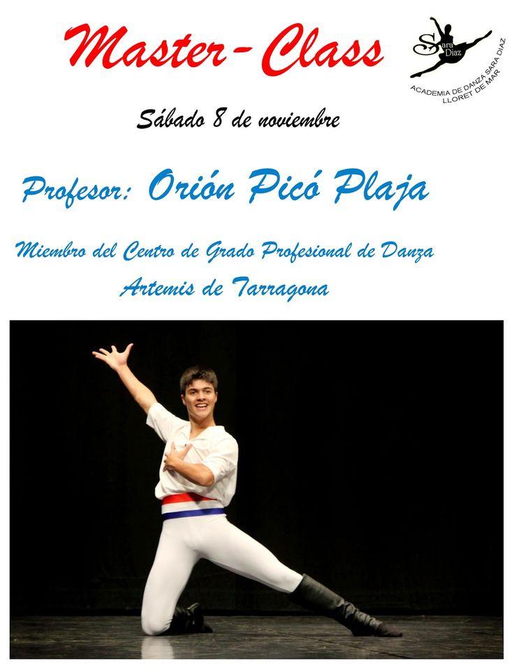 Escuela Ballet Lloret de Mar: Sabado 8 de noviembre -primer masteclass