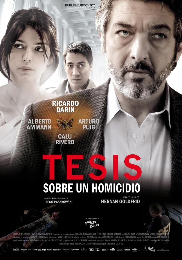 Tesis sobre un homicidio (11/04/13)