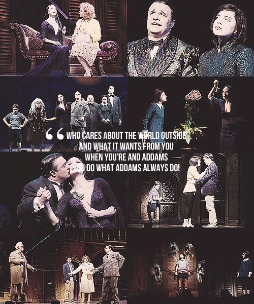 The Addams Family Musical- I loved this so much!