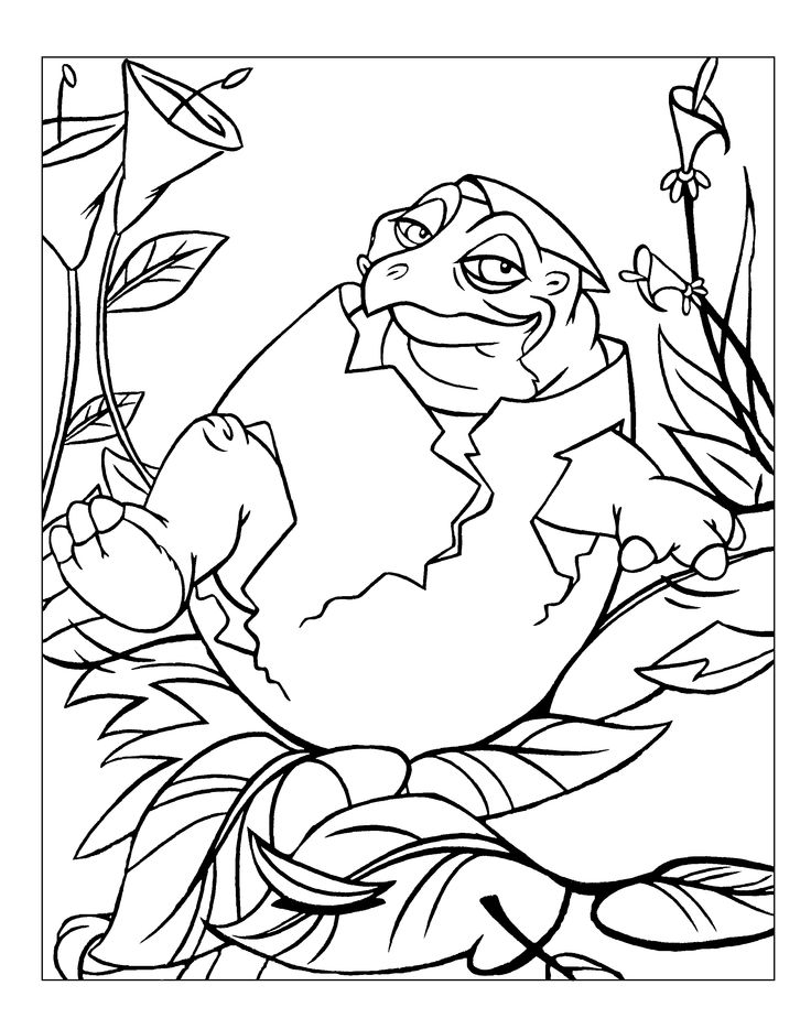 Land Before Time Chomper Coloring Pages - 2018 images & pictures ...