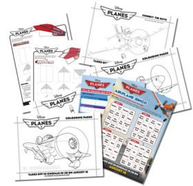 Disney's Planes Colouring and Activity Sheets