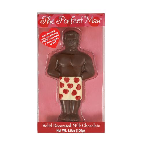 The Perfect Man Chocolate Candy | Milk Chocolate Man - The ultimate Valentine gift!