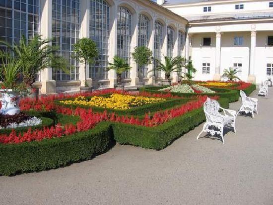Gardens and Castle at Kromeriz: Květná zahrada (Flower Garden)