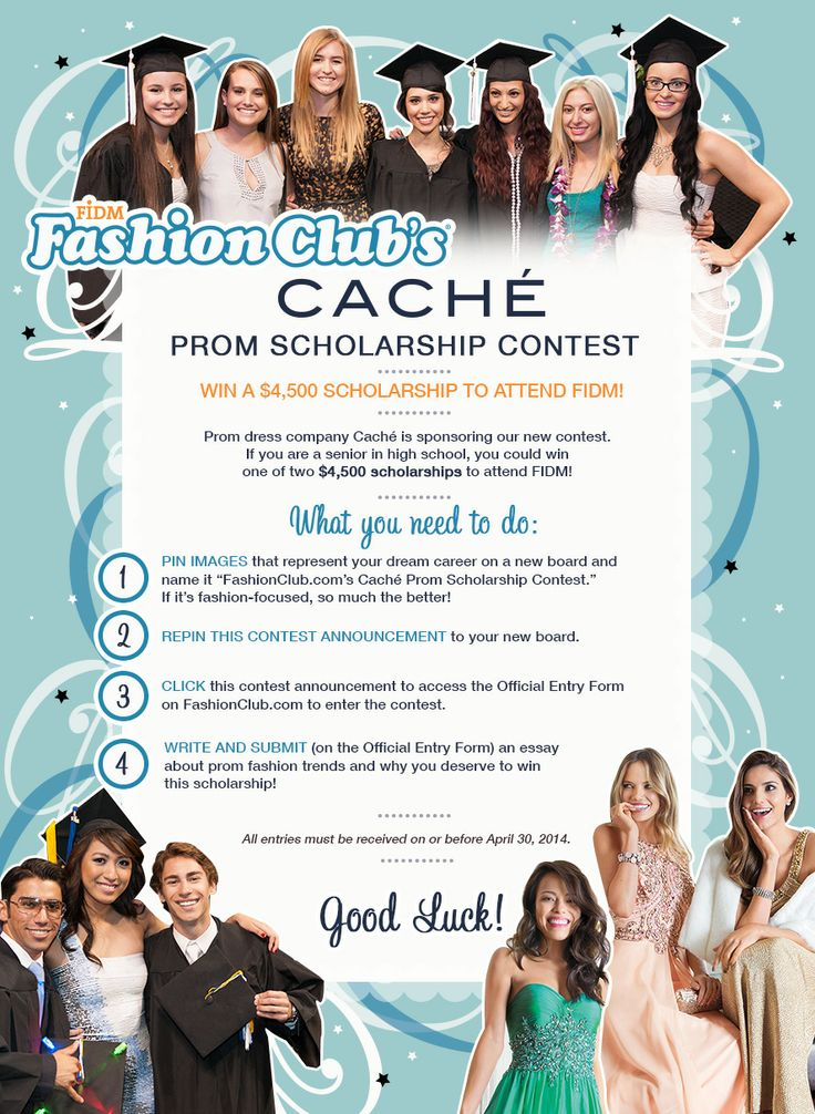 best fashionclub com s cach atilde copy prom scholarship contest images on win one of two 4 500 scholarships to attend fidm sponsored by cachatildecopy write