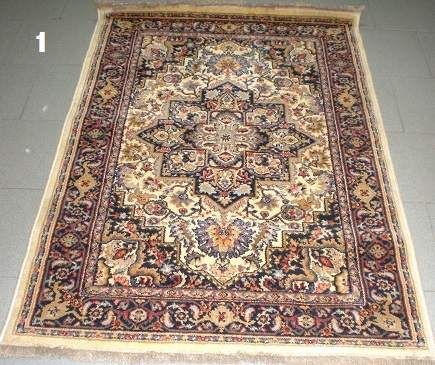 Tappeti mogul 100x150 100% lana