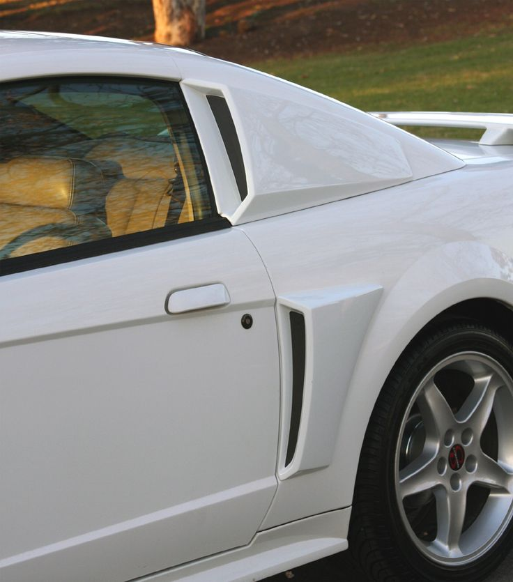 Pics of 99 04 mustang side scoops google search for 2000 mustang rear window louvers