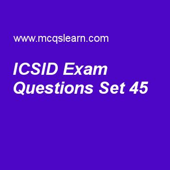 Practice test on icsid, general knowledge quiz 45 online. Practice GK exam's questions and answers to learn icsid test with answers. Practice online quiz to test knowledge on icsid, michael faraday, international fund for agricultural development, mercury facts, troposphere worksheets. Free icsid test has multiple choice questions as purpose of icsid which belongs to world bank group is to, answers key with choices as reduce poverty, settle disputes of states, provide long-term loans and ..
