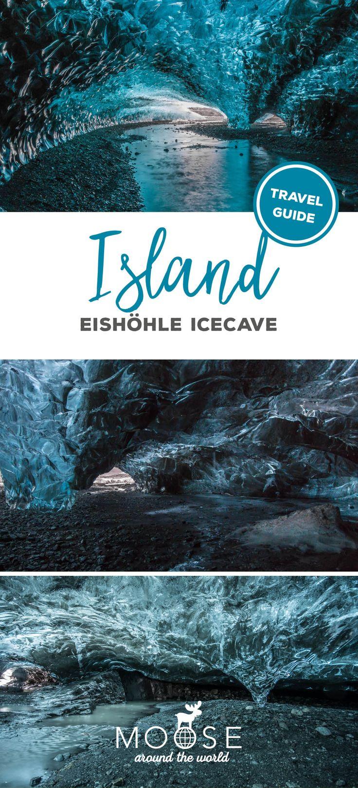Eishöhlen auf Island sind eines DER Naturspektakel im nordischen Winter! #werbung #icecave #vatnajökull #iceland #island #eishöhle