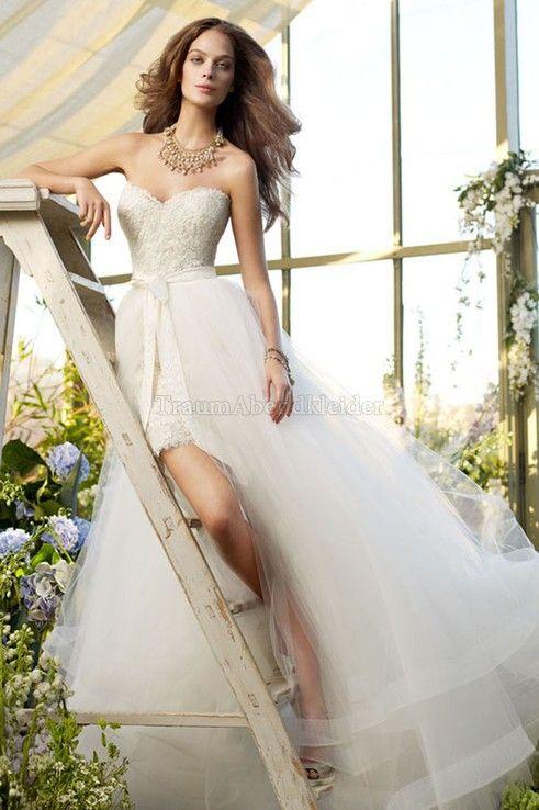 16 besten Brautkleider Bilder auf Pinterest | Spitze, V-Ausschnitt ...