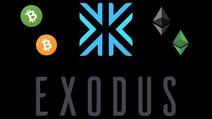 Exodus Greek crypto wallet