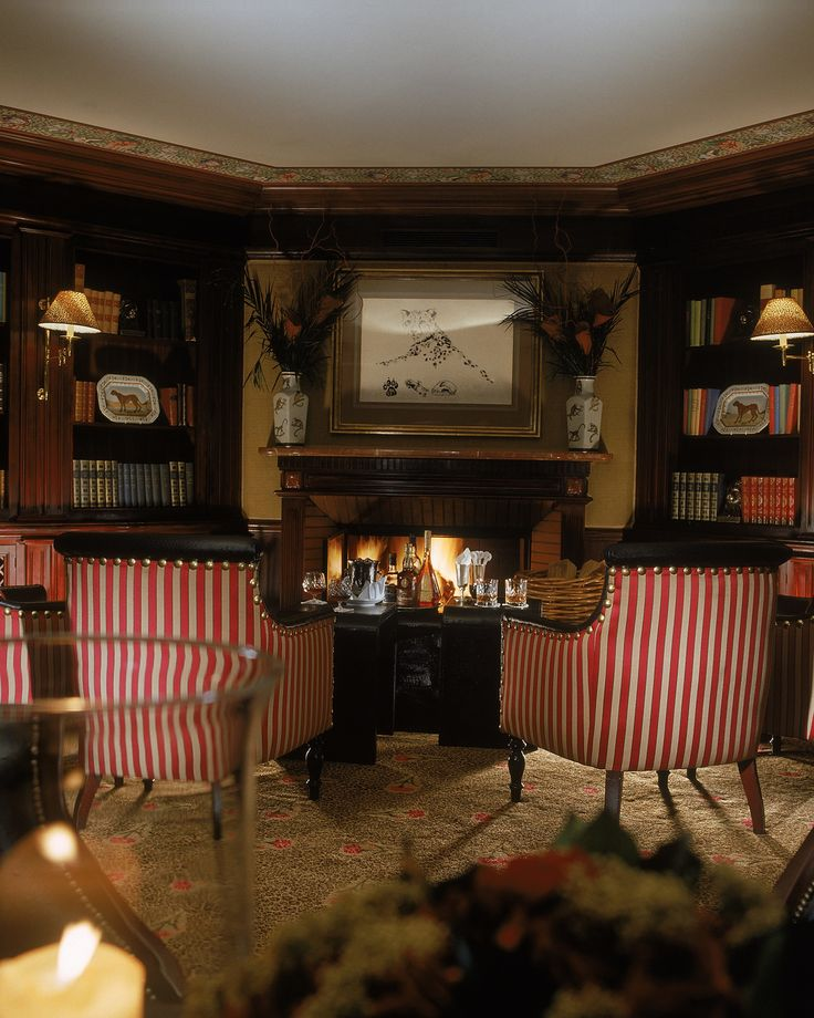 End the day with a night cap in the Leopard Bar #Hoteld'Angleterre #UniqueSleeps #Luxury #Switzerland #Geneva