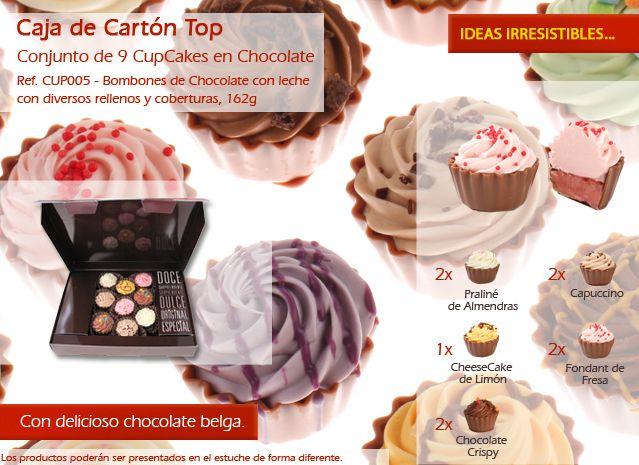 ¡Cupcakes con diferentes sabores y colores! ¿Usted sabe?