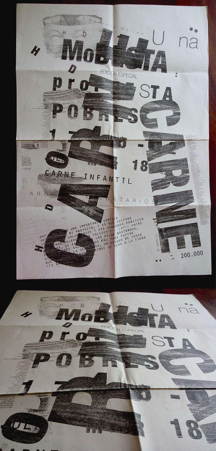 """Editorial """"Una modesta propuesta"""" on Behance"""