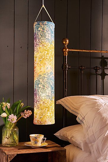 Our Abloom fabric lantern creates a truly unique lighting experience. All of our battery-powered lanterns are hand-made in Britain using 100% cotton.  Surprising and delighting, our lanterns can brighten up a grey winters evening with a warming glow, or create a magical setting in the garden on a warm summers night.