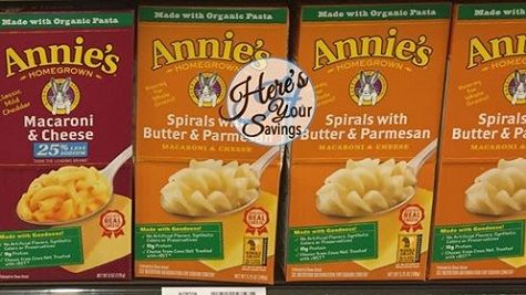 Annie's Mac & Cheese, Only 50¢ at Kroger! http://heresyoursavings.com/annies-mac-cheese-50%c2%a2-kroger/