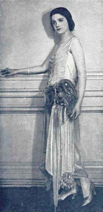 Dress by Martial et Armand, 1922.