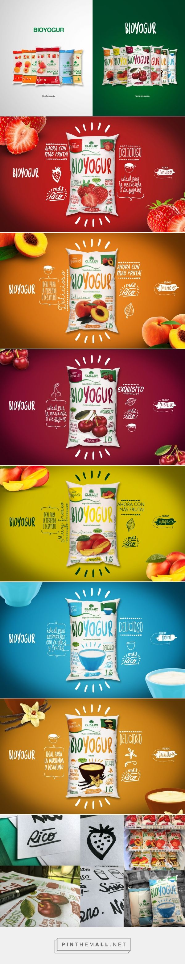 Claldy Bioyogur Yogurt - Packaging of the World - Creative Package Design Gallery - http://www.packagingoftheworld.com/2016/10/claldy-bioyogur.html