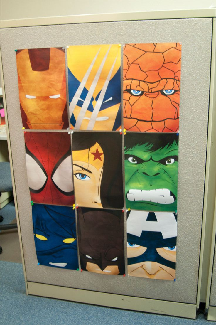 DIGITAL DOWNLOAD Assorted Superhero Posters - Buy 3, get the 4th FREE. $3.00, via Etsy.