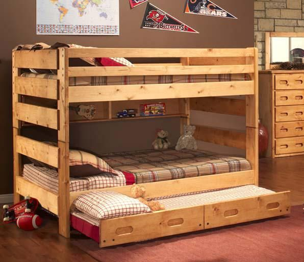 Twin Over Full Bunk Bed With Trundle Bed From 1800bunkbed Bunk
