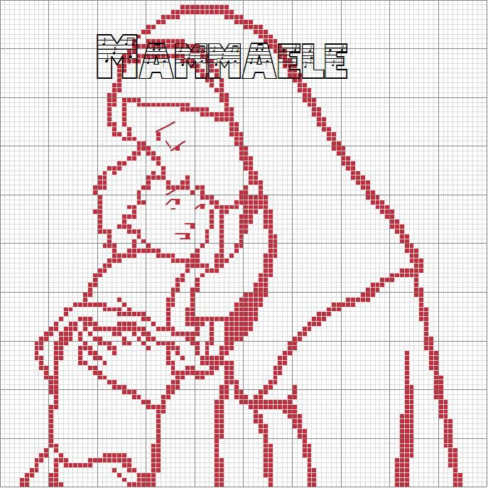 Exceptionnel 292 best Madonne,figure sacre images on Pinterest | Filet crochet  NX12