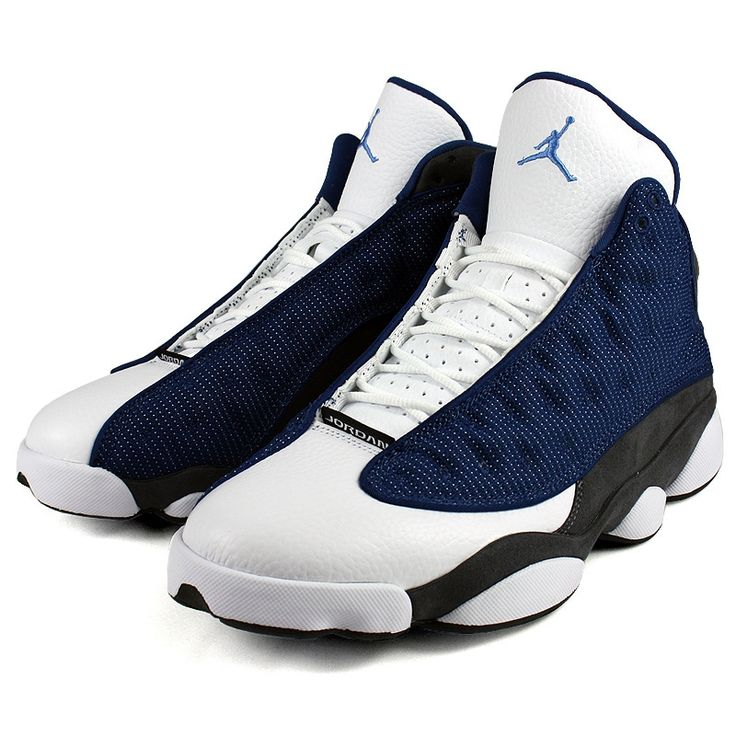 Air Jordan Retro 13 My husband looks good in Blue! Then again, he hust looks good in any color.